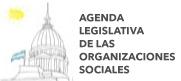 Agenda Legislativa de las organizaciones sociales